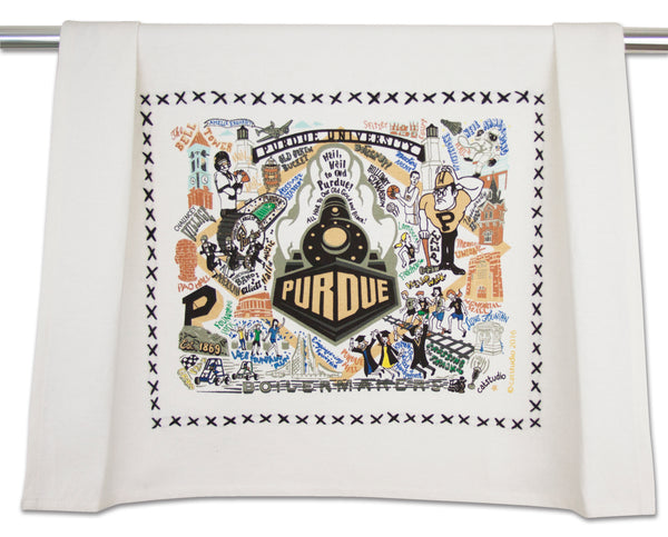 Purdue University Dish Towel - CityBarnCountryPenthouse