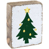 XMAS TREE  RUSTIC BLOCK - CityBarnCountryPenthouse