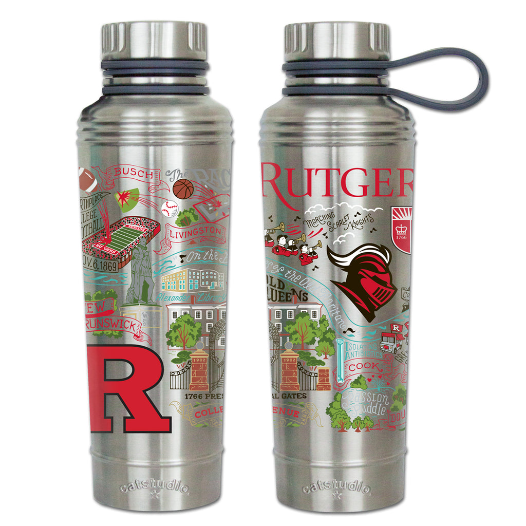 Rutgers University Thermal Bottle -- New!!! - CityBarnCountryPenthouse
