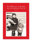 Christmas In The Heart Christmas Card - CityBarnCountryPenthouse