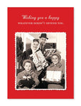 Doesn't Offend You Christmas Card - CityBarnCountryPenthouse