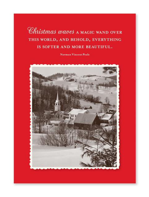 Magic Wand Christmas Card - CityBarnCountryPenthouse