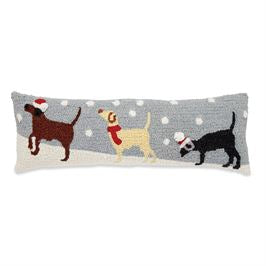 SNOW DOGS HW PILLOW - CityBarnCountryPenthouse