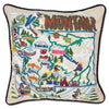Ski Montana Pillow - CityBarnCountryPenthouse