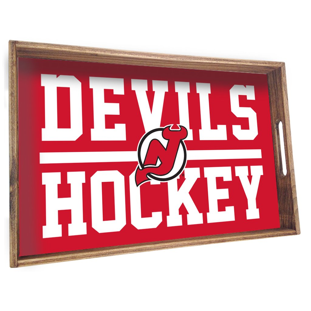 NEW JERSEY DEVILS SPORT STACKED TRAY - CityBarnCountryPenthouse