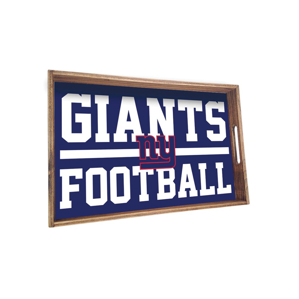 NEW YORK GIANTS SPORT STACKED TRAY - CityBarnCountryPenthouse