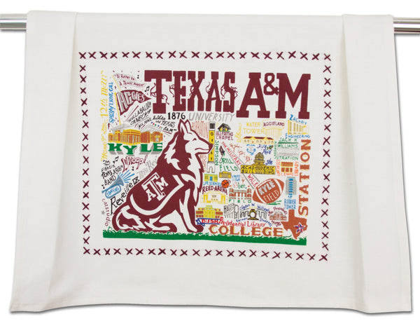 Texas A&M Dish Towel - CityBarnCountryPenthouse