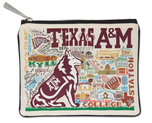 Texas A&M Pouch - CityBarnCountryPenthouse