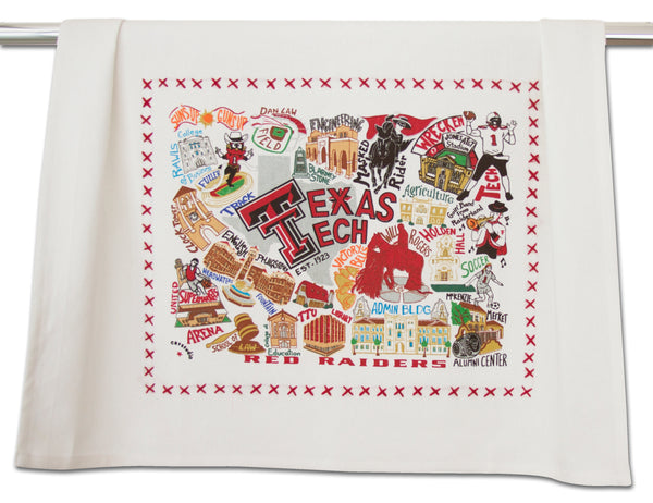Texas Tech Dish Towel - CityBarnCountryPenthouse