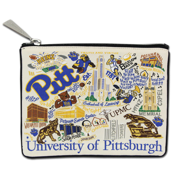 University Of Pittsburgh (Pitt) Pouch - CityBarnCountryPenthouse