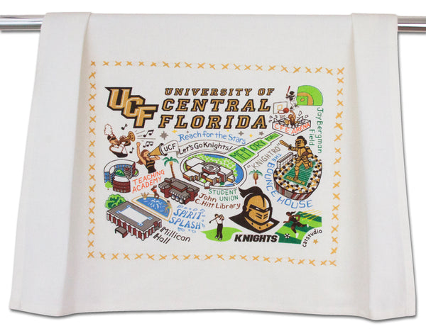 University Of Central Florida (Ucf) Dish Towel - CityBarnCountryPenthouse