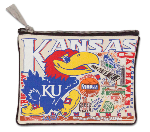 University Of Kansas Pouch - CityBarnCountryPenthouse