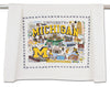 University Of Michigan Dish Towel - CityBarnCountryPenthouse