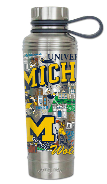University Of Michigan Thermal Bottle - CityBarnCountryPenthouse