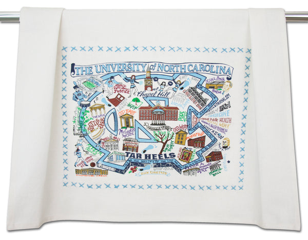 University Of North Carolina (Chapel Hill) Dish Towel - CityBarnCountryPenthouse