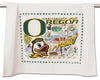 University Of Oregon Dish Towel - CityBarnCountryPenthouse