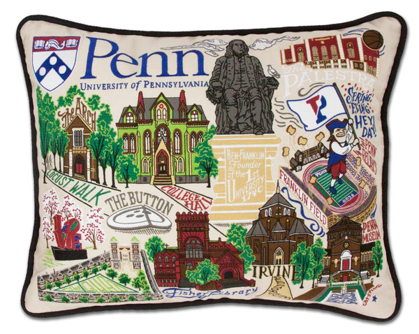 University Of Pennsylvania (U Penn) Pillow - CityBarnCountryPenthouse