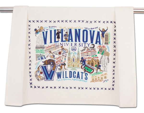 Villanova University  Dish Towel - CityBarnCountryPenthouse
