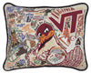 Virginia Tech Pillow - CityBarnCountryPenthouse