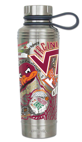 Virginia Tech Thermal Bottle - CityBarnCountryPenthouse