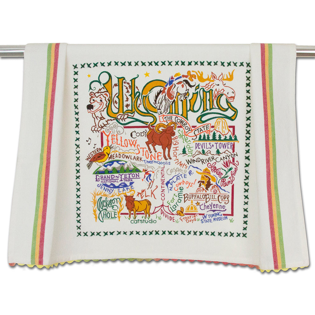Wyoming Dish Towel - CityBarnCountryPenthouse
