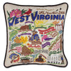 WEST VIRGINIA PILLOW - Low Stock! - CityBarnCountryPenthouse