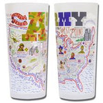 Army Drinking Glasses - Set Of 4 - CityBarnCountryPenthouse