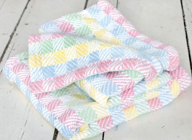Tourmaline Cotton Baby Blanket