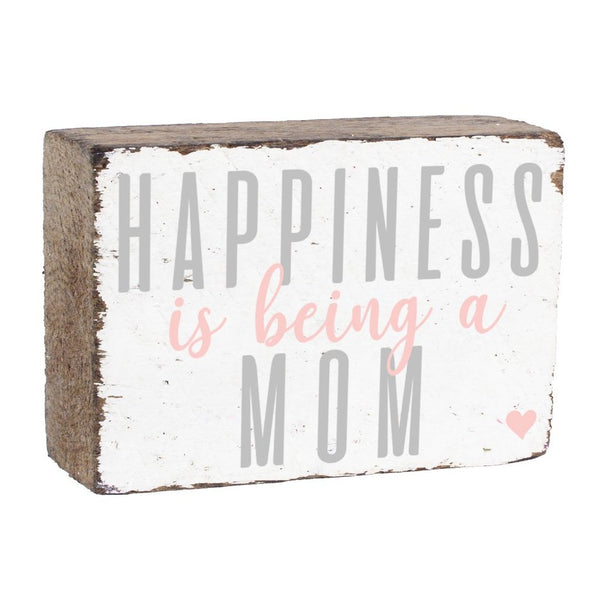 BEING A MOM XL RUSTIC BLOCK - CityBarnCountryPenthouse