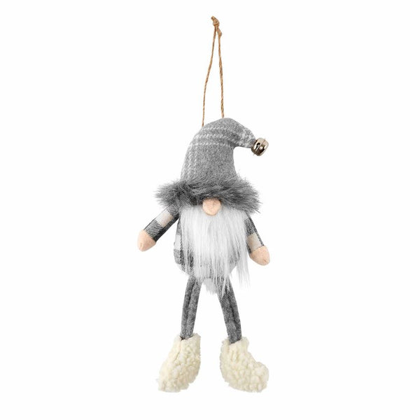 Bell Hat Gray Gnome Ornament - CityBarnCountryPenthouse