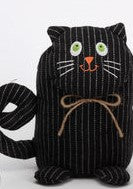 CAT DOORSTOP - Black - CityBarnCountryPenthouse