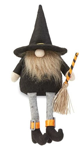 BROOM DANGLE GNOME - CityBarnCountryPenthouse