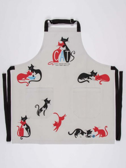 CATS. SLIGHTLY OBSESSED WITH THEM. (DON'T WORRY ABOUT IT) APRON - CityBarnCountryPenthouse