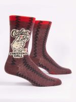 COOLEST GUY ON THE CONFERENCE CALL M-CREW SOCKS - CityBarnCountryPenthouse