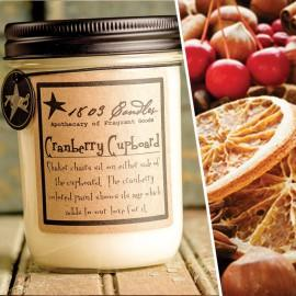 Cranberry Cupboard Soy Jar Candle