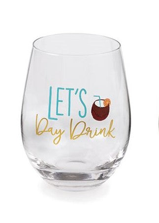 Day Drink STEMLESS WINE GLASSES