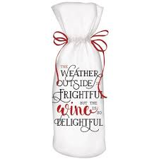 Wine Is Delightful Wine Bag - CityBarnCountryPenthouse