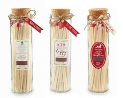 CHRISTMAS LARGE MATCHES IN BOTTLE - CityBarnCountryPenthouse