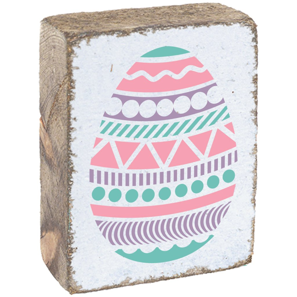 EASTER EGG RUSTIC BLOCK - CityBarnCountryPenthouse