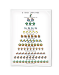 A Family Christmas Dish Towel - CityBarnCountryPenthouse