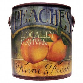 Peaches Farm Fresh Candle - CityBarnCountryPenthouse