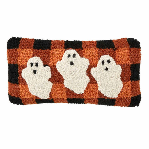 Ghosts MINI HOOKED PILLOW - CityBarnCountryPenthouse