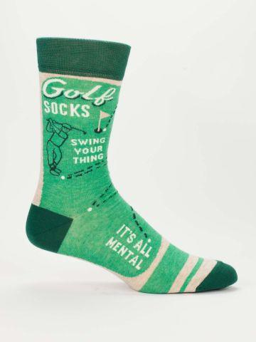 GOLF M-CREW SOCKS - CityBarnCountryPenthouse