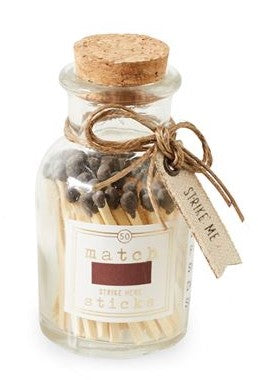 SMALL GRAY MATCHES IN BOTTLE - CityBarnCountryPenthouse