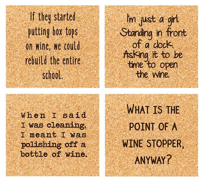 WINE-O COASTER BOX SET - CityBarnCountryPenthouse