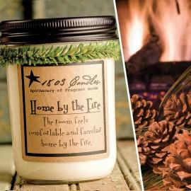 Home by the Fire Soy Jar Candle