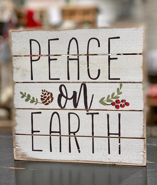 Peace on Earth 8x8 - CityBarnCountryPenthouse