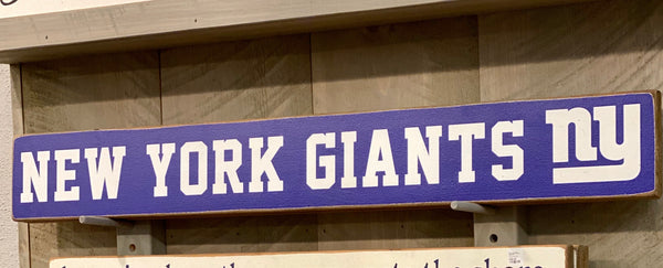 New York Giants Barn Board - CityBarnCountryPenthouse