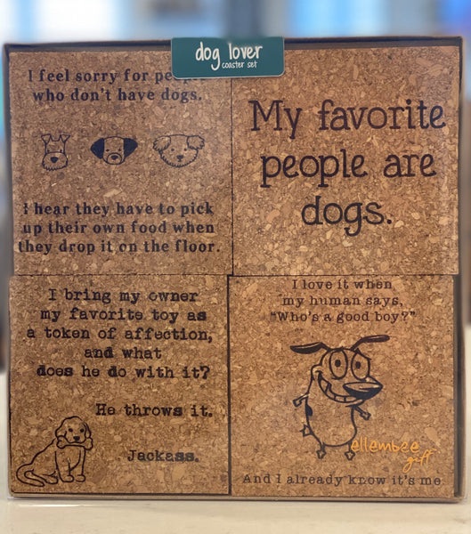 DOG LOVER COASTER BOX SET - CityBarnCountryPenthouse