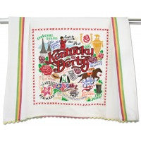 Kentucky Derby Dish Towel - CityBarnCountryPenthouse